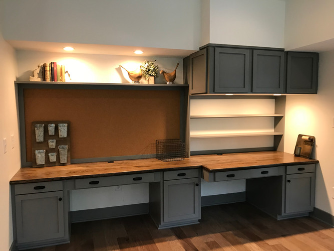 Desk Area After