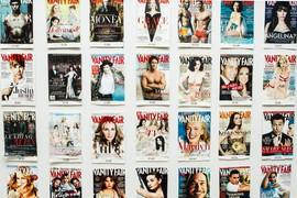 Vanity Fair Covers In Jane Sarkin's Office