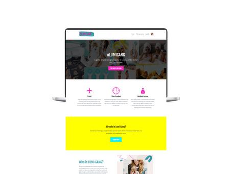 Brand New Website Launch for Lumi Gang