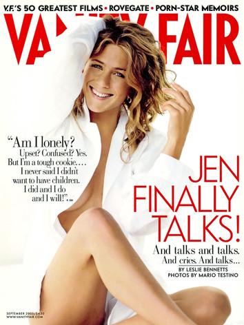 Jennifer Aniston: Jen Finally Talks