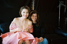 Jane Sarkin With Jessica Biel