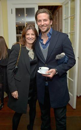 Jane Sarkin With Bradley Cooper