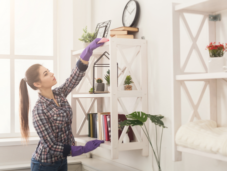 3 GA Interior Design Spring Cleaning Tips