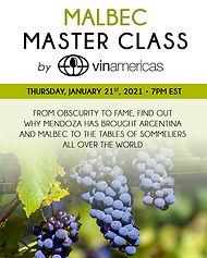 Malbec Master Class Jan 21