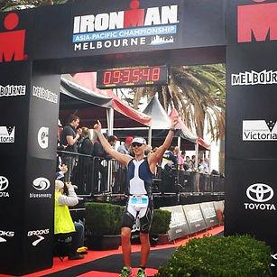 Melbourne Ironman 2014 Finish