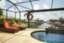 Canal home in Cape Coral Florida