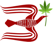 Three Birds logo