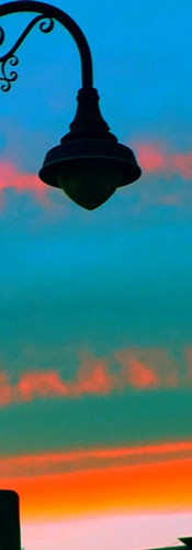 Lamp Post Sunset