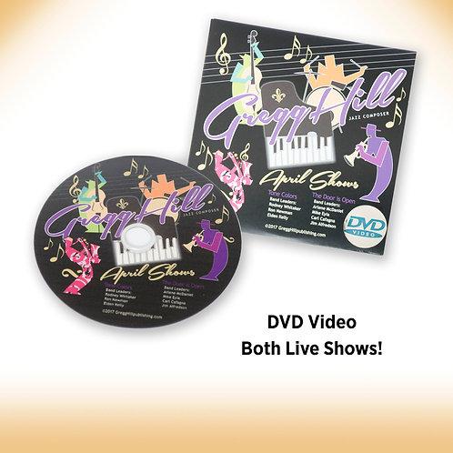 Gregg's April 2017 Live Show DVD