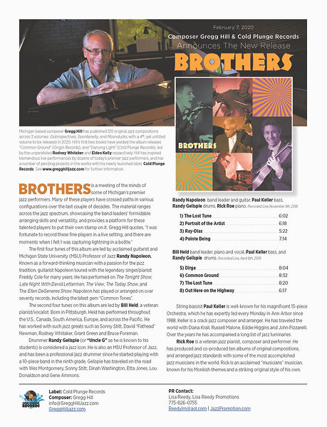 Brothers One Sheet