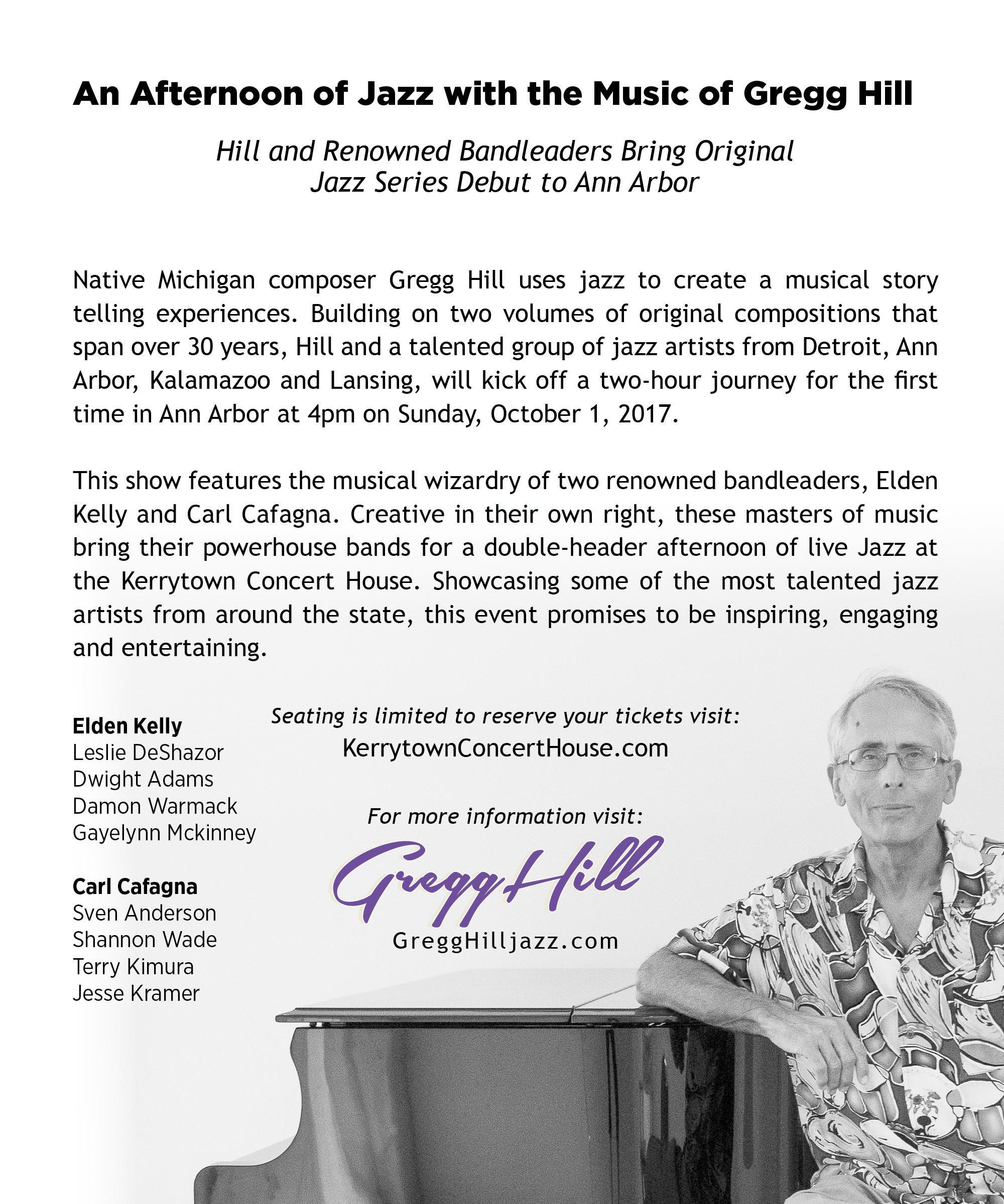 GHJ Oct 1 Show KCH Promo details