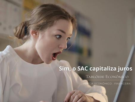 Capitalização de juros SAC