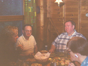 Dinner with friends & fam at Camp