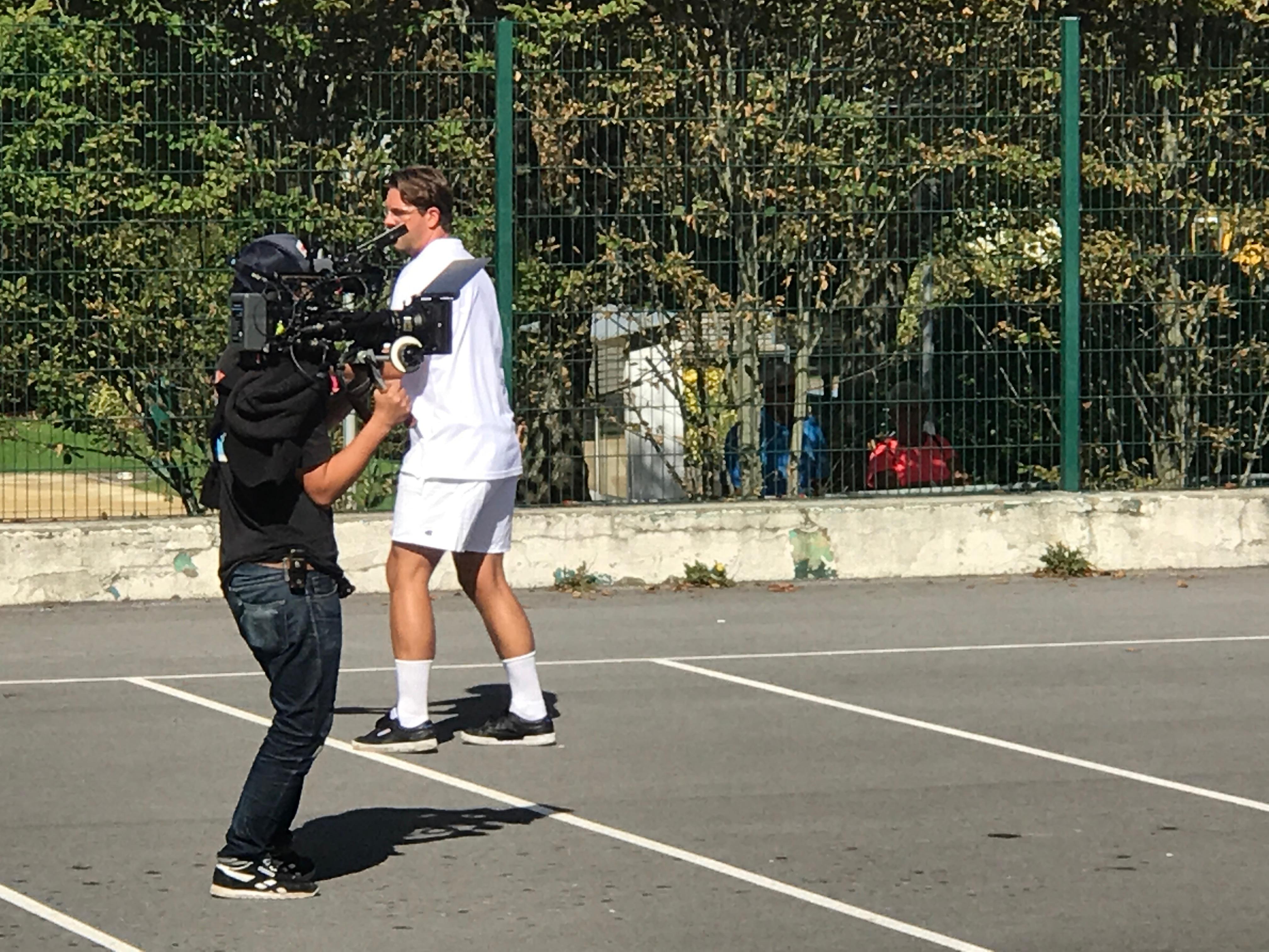 Cameraman pays basque Audiovisuelle