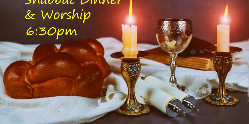 Shabbat Dinner & Worship