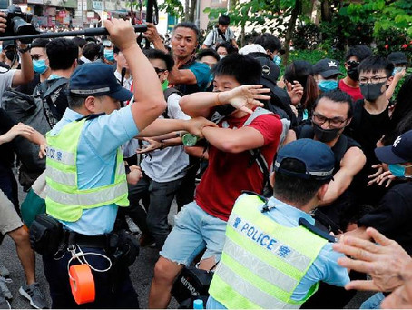Hong Kong's Anarchy