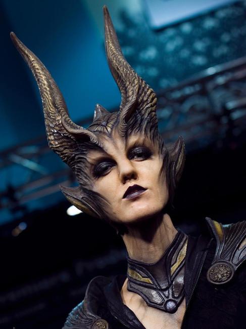 V Nixie as Maleficent