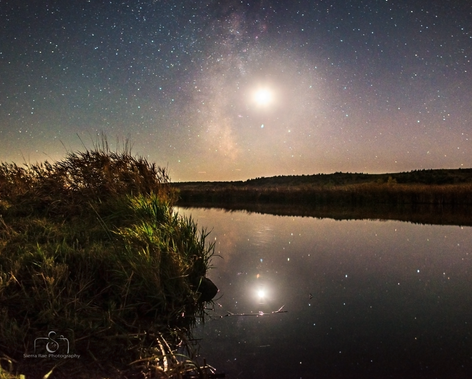 Moon Reflections