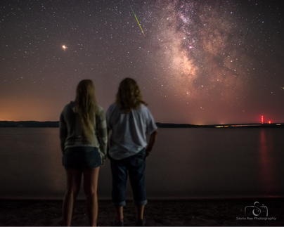 Perseids with Mum