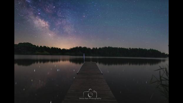 Lake Alvin Milky Way-lapse