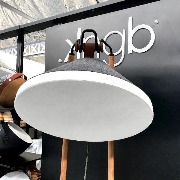 luminaires de kngb, vestiaire de maisons de mode, roubaix