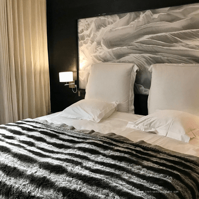 détail chambre Avenue Lodge, hotel de luxe a Val d'Isere
