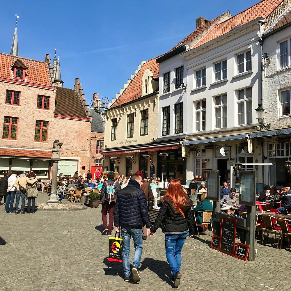 Huidenvettersplein, Bruges