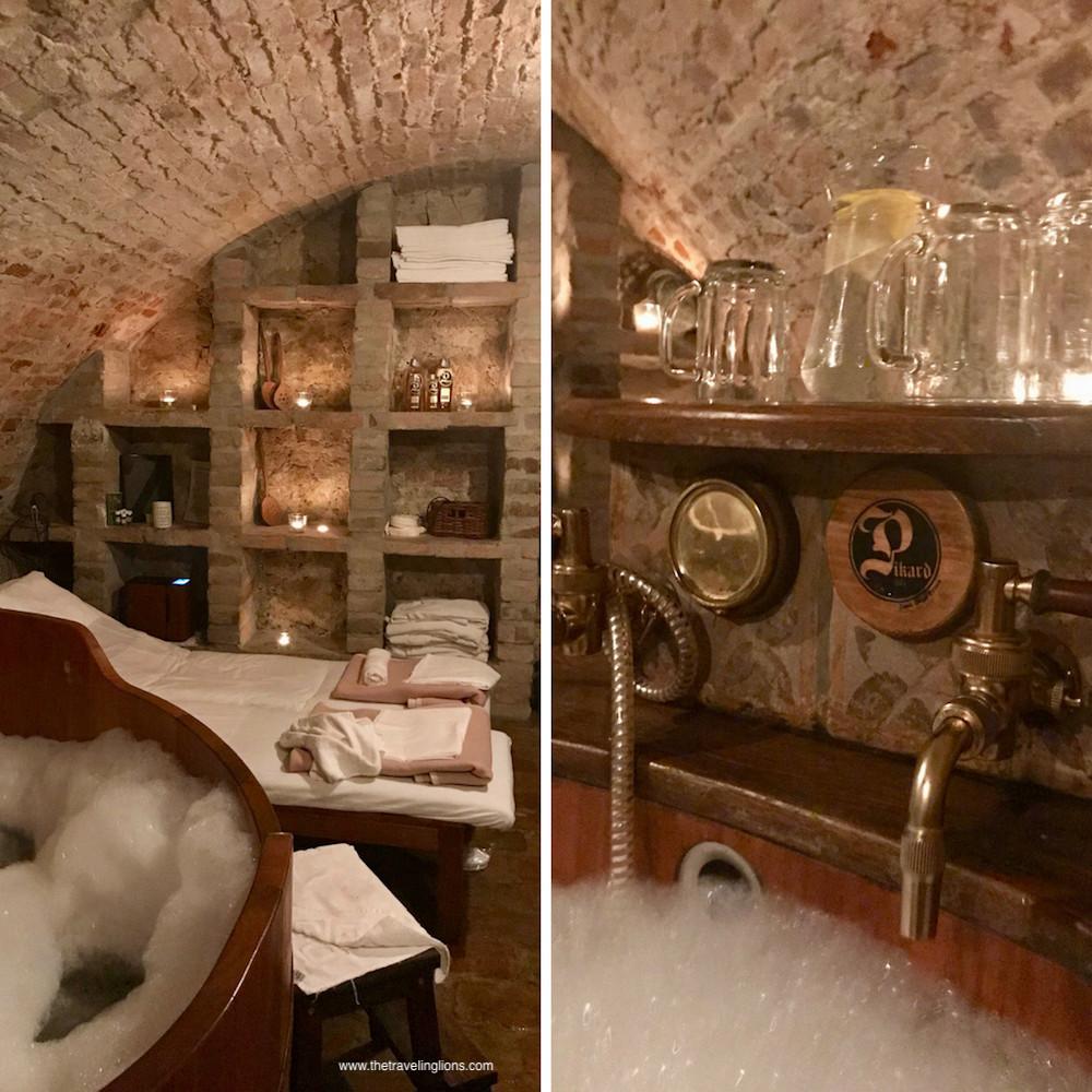 Expérience à faire en République tchèque ? Un beer Bath ! A Ostrava, super moment au Zameh Zabreh