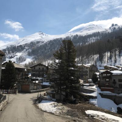 Hameau du Fornet, à Val d'Isère, dans le parc national de la Vanoise (Savoie)