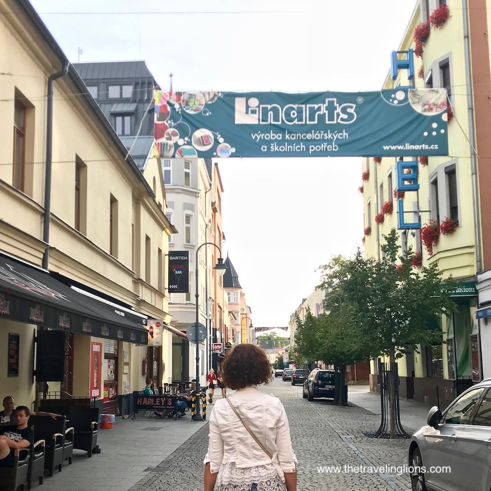 Stodolni, la rue qui ne dort jamais à Ostrava, République tchèque