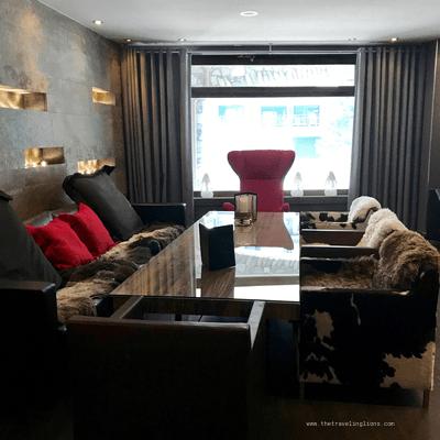 Lobby, hotel & spa avenue Lodge  a val d Isere, dans les alpes françaises