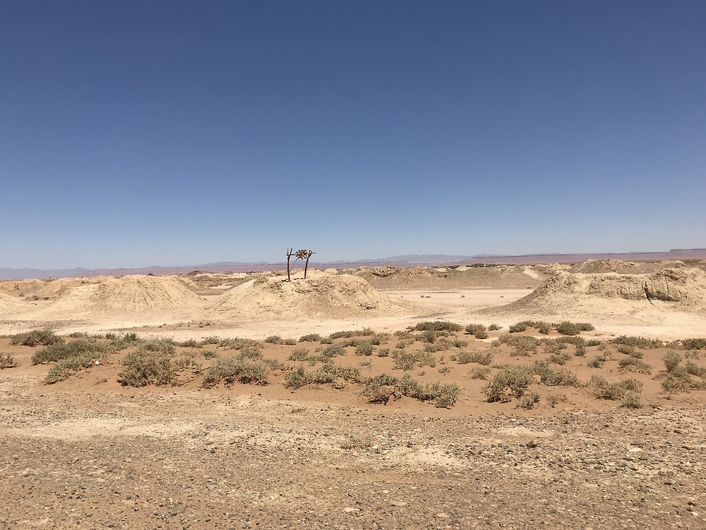 kehettara, système d'irrigation des oasis dans le sud marocain, photo prise lors de notre voyage au Maroc en famille