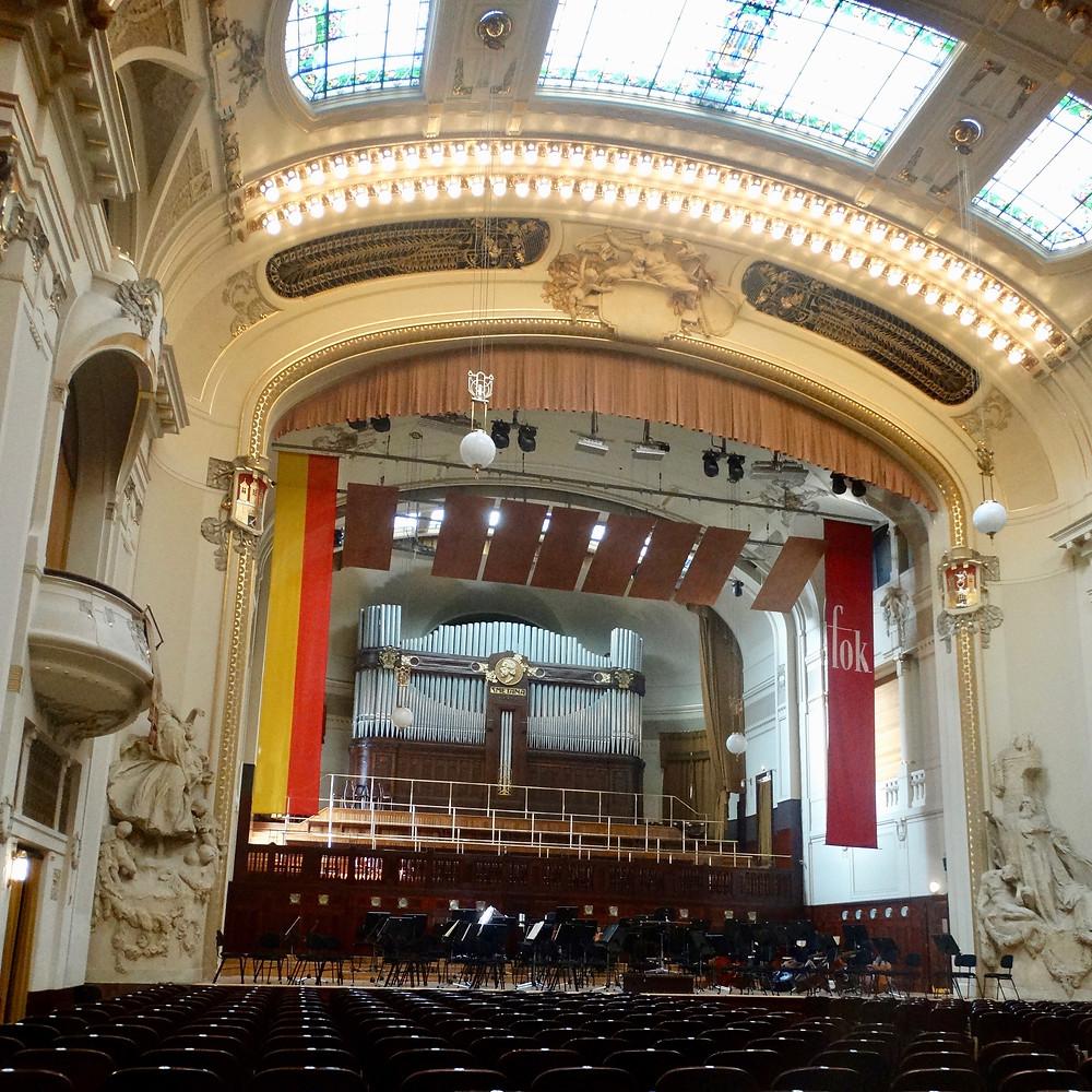 Salle Smetana, Maison municipale, Prague