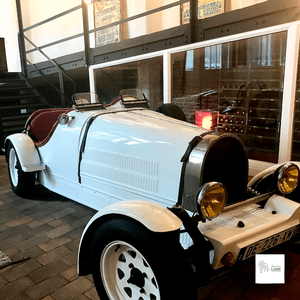 La Bugatti du restaurant Fabrica, à Roubaix