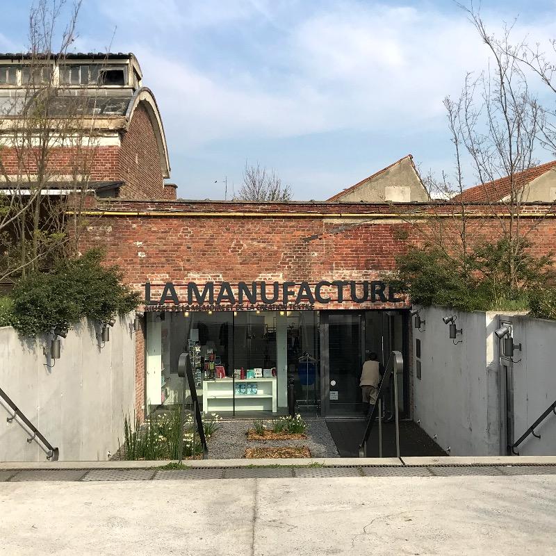 entrée musée manufacture de roubaix, près de Lille