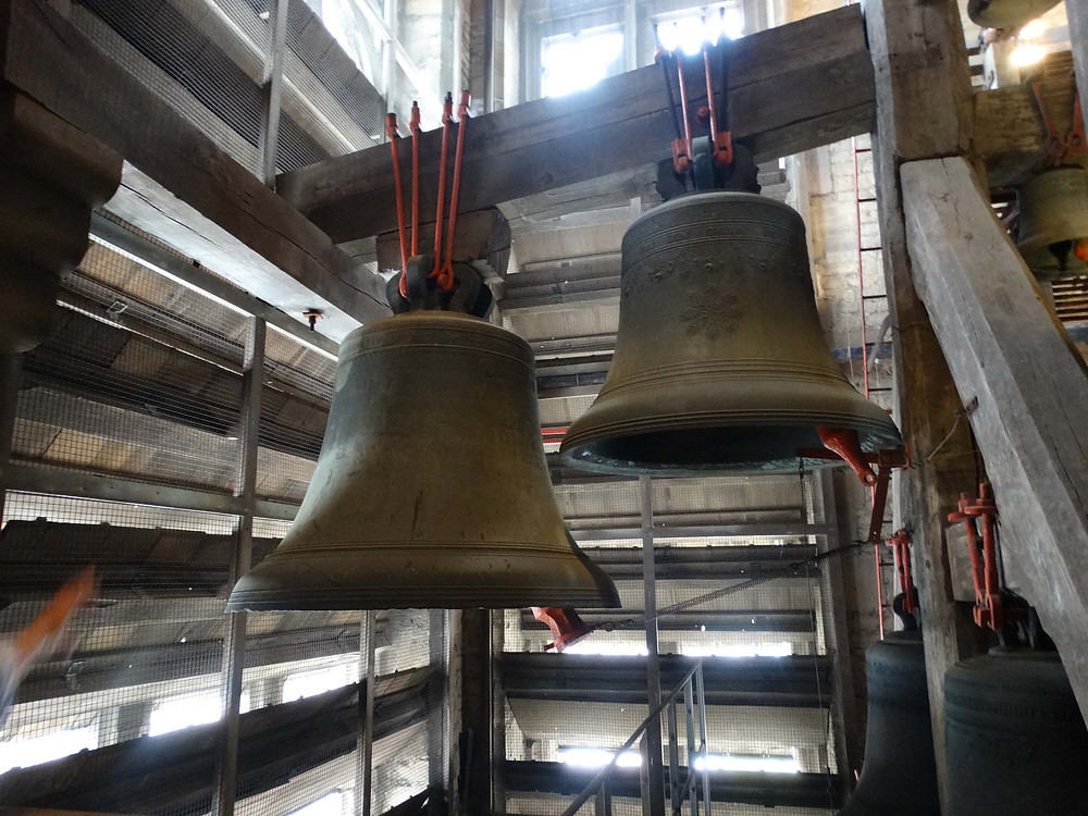 Photo des cloches de la cathédrale Saint Rombaut de Malines