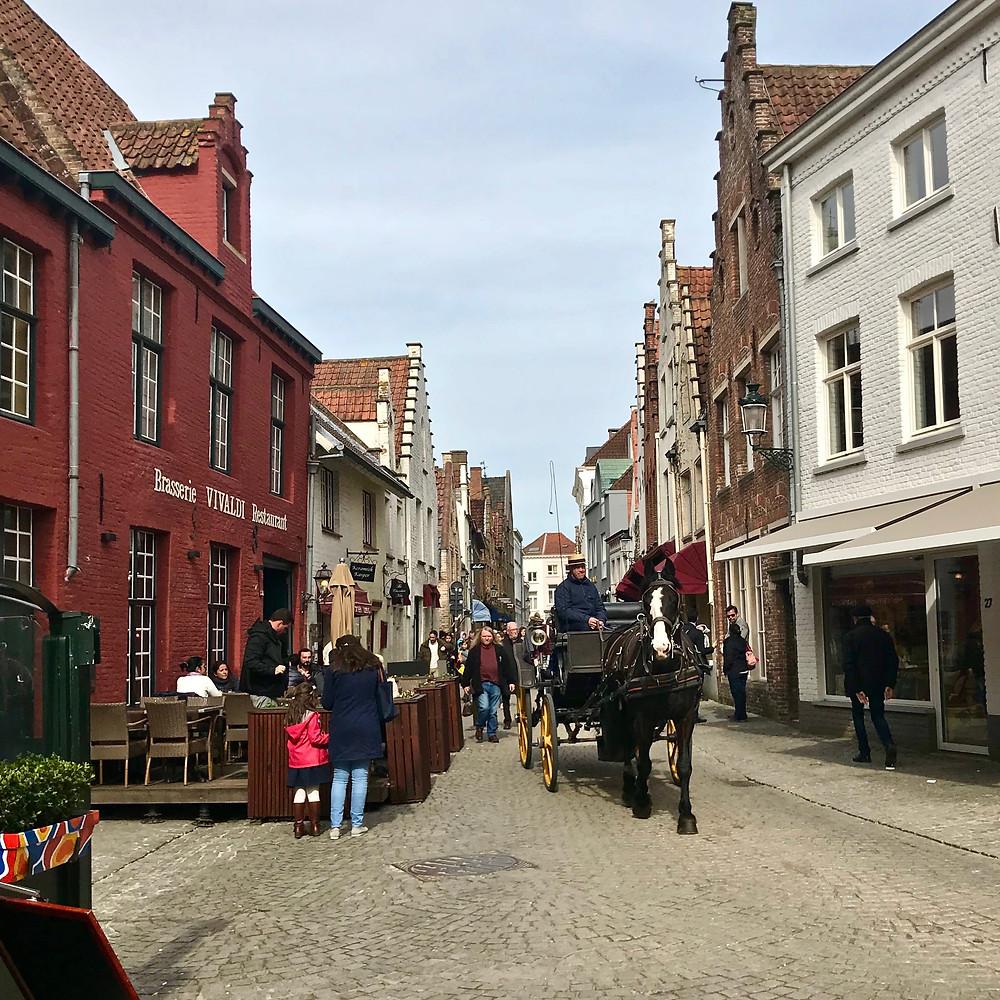 Calèche ,  Wijngaardtraat , Bruges