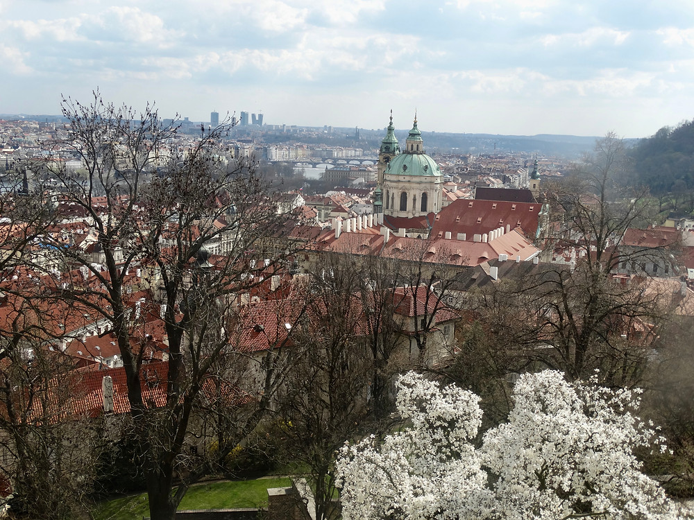 Prague in early spring
