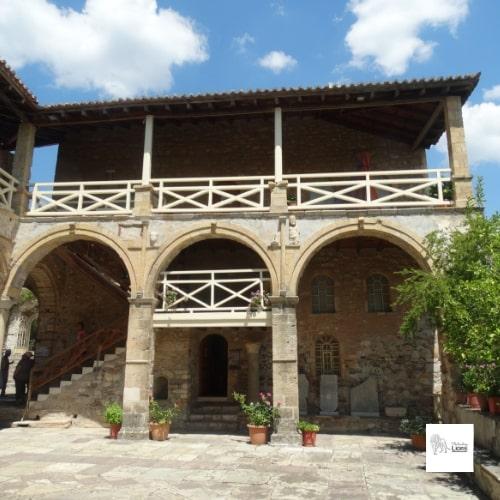 Musée de Metropolis, cité byzantine de Mystra, dans le peloponnese, en grece