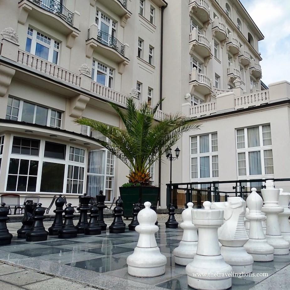 jeu d'échecs exterieur