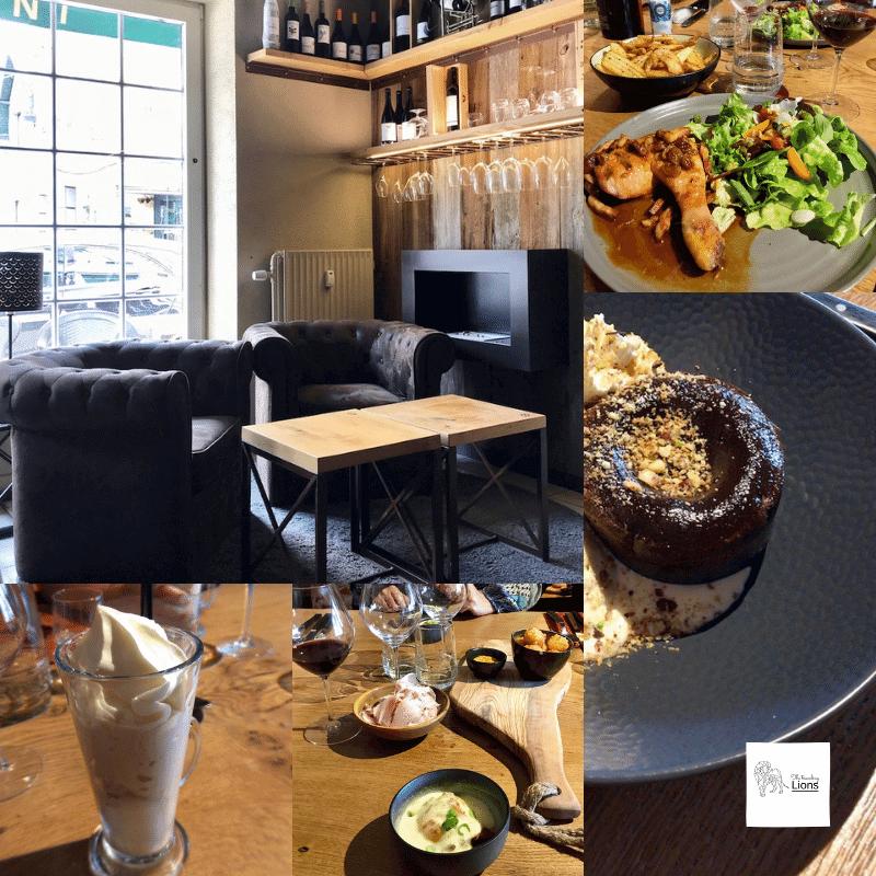 Restaurant Le Cantil à Aywaille, décoration et photos du menu Petite promenade