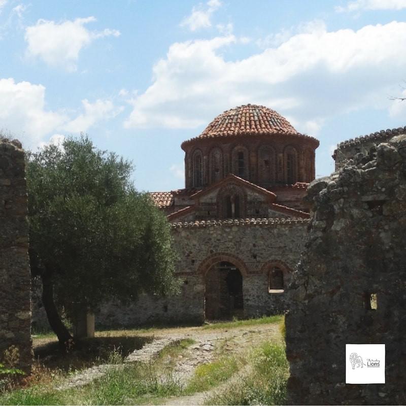monastère du brontochion, mistral, en grece