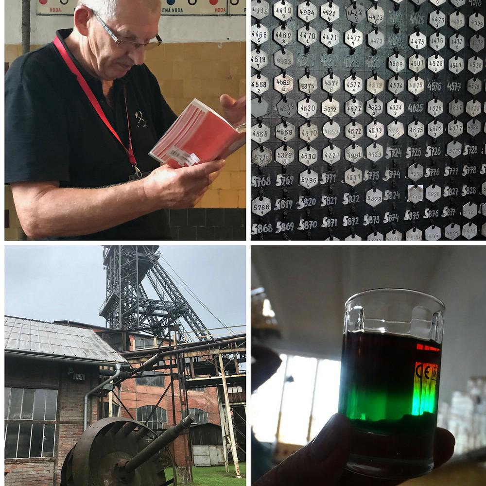 La boisson des mineurs en République tchèque et la mine Michal, Ostrava, République tchèque