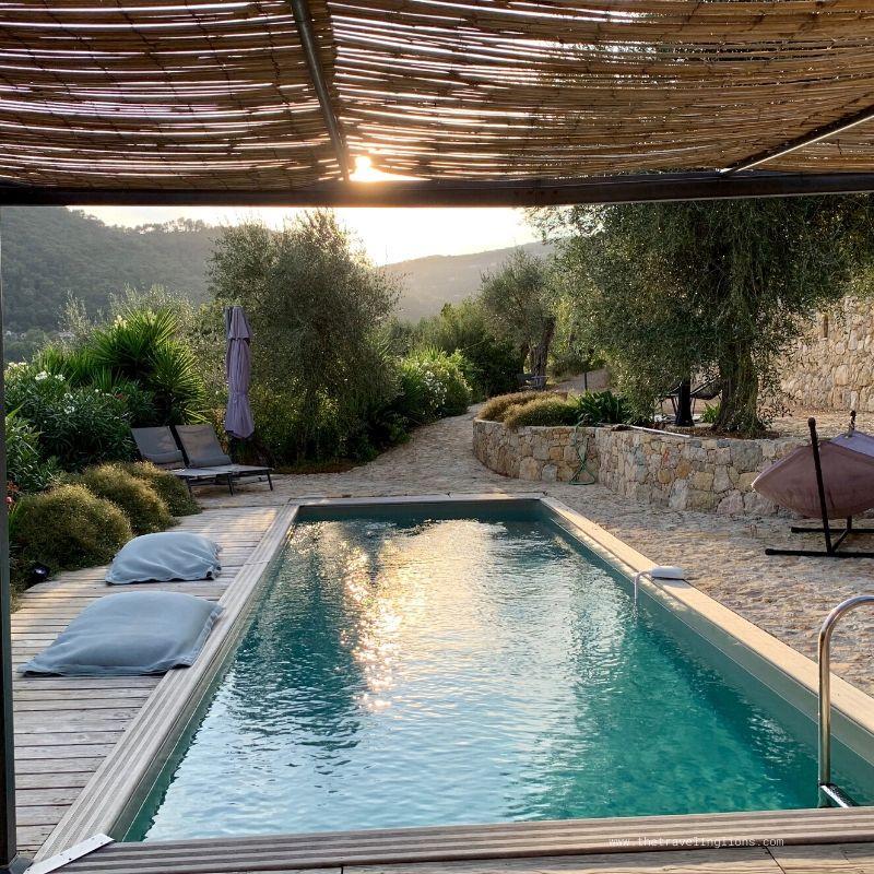 Maison de vacances avec piscine, Domaine Saint-Sauveur, gîte de charme et de caractère à Grasse