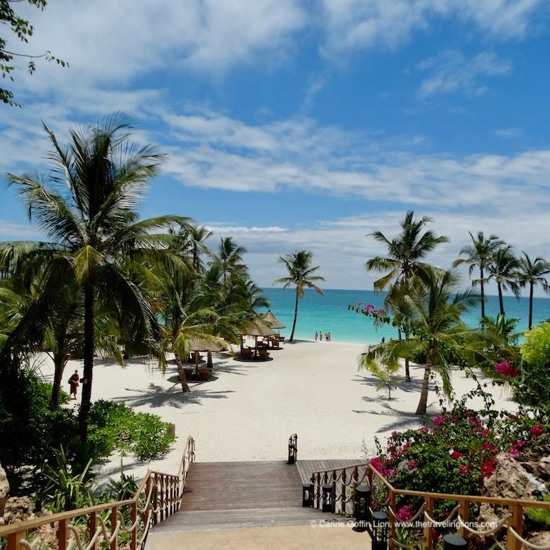 La superbe plage du Zuri, à Kendwa, Zanzibar