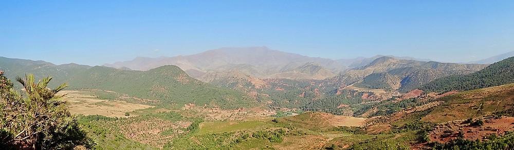 photo du haut atlas marocain, prise pour notre blog voyage belge lors de notre road trip en famille au Maroc