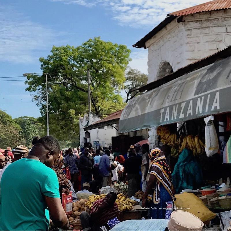 Marché aux épices de Stone Town, Zanzibar