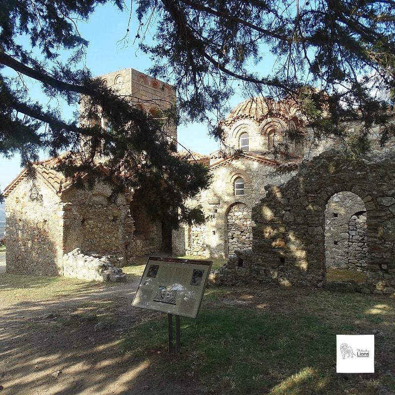 Sainte-Sophie, (Agia Sofia), l'église des Despotes de Morée, Mystra, Peloponnese, Grece