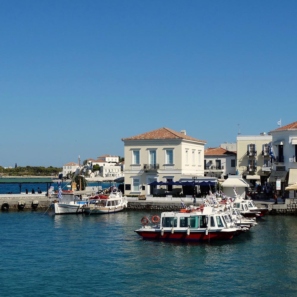 Port de Spetses, Grece