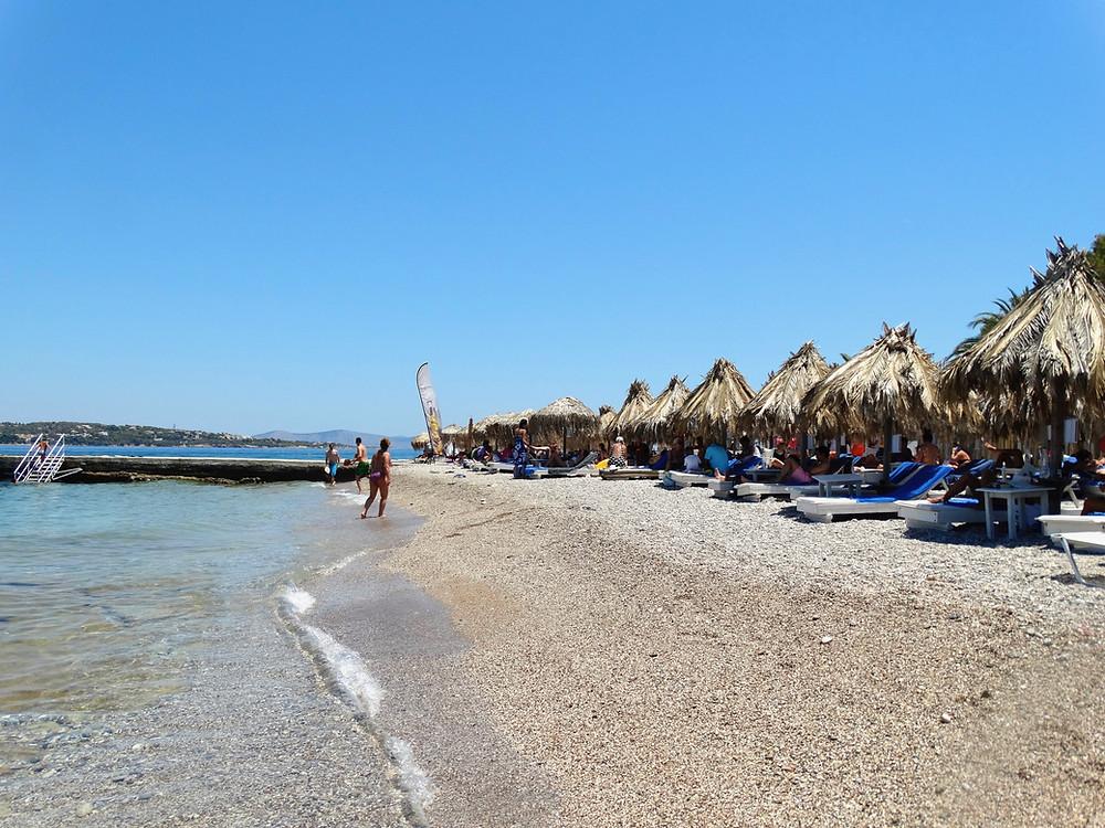 Kaiki beach, Spetses, Greece
